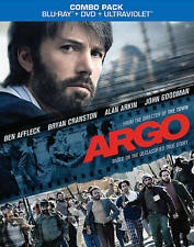 ARGO (Blu-ray/DVD, 2013, 2-Disc Set Includes Digital Copy UltraViolet) NEW