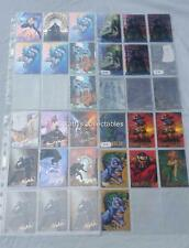 Batman Master Series Trading Cards Choose from a selection of chase insert cards