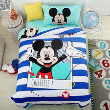 Happy Mickey Duvet/Doona/Quilt Cover Doona Cover Single/King Single Bed New A623