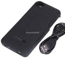 New 1900mAh External Rechargeable Backup Battery Charger Case  For Iphone ED01