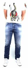 Diesel Jeans Buster 842H Regular Fit Tapered Leg 0842H