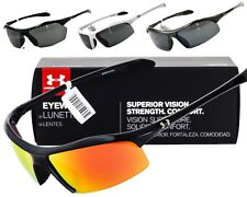 NEW UNDER ARMOUR ZONE / ZONE XL SUNGLASSES Black frame / Grey lens AUTHENTIC
