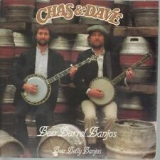 "CHAS AND DAVE Beer Barrel Banjos 7"" VINYL UK Rockney Also Featuries Roll Out"