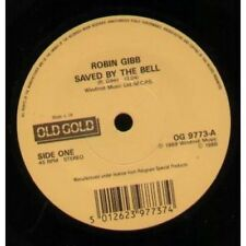 """ROBIN GIBB/BEE GEES Saved By The Bell/Words 7"""" VINYL UK Old Gold 1988 Old Gold"""
