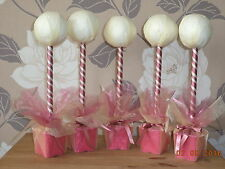 new 5 x dusky pink hand crafted sweet tree kits  weddings birthday partys