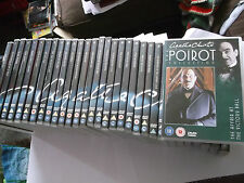 Agatha Christie  Poirot collection of 32 dvds