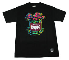 DGK Skateboard T Shirt POPEYE SPINACH CAN BLACK