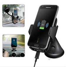 Qi Wireless Fast Charger Car Mount Holder for Samsung Galaxy S6 S7 Edge LG