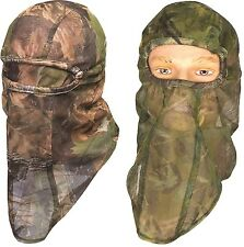 JACK PYKE LIGHTWEIGHT MESH BALACLAVA - english oak / woodland camo + face veil