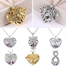 1PC Women Fashion Silver/Gold Plated Hollow Heart Love Pendant Necklace Jewelry