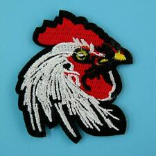 Hen Rooster Chicken Bird Iron on Sew Patch Cute Applique Badge Embroidered Motif