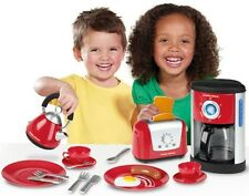 Morphy Richards Realistic Little Cook Kitchen Playset Microwave Toaster Kettle