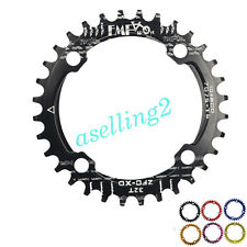 Bike Bicycle Narrow Wide Round Oval Single Chainring BCD 104mm 32 34 36 38T B179