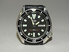 SEIKO 150M SCUBA DIVERS DAY/DATE AUTOMATIC MENS WATCH 6309-7290 JUNE 1986 PATINA