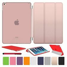 Smart Magnetic Leather Stand Cover Back Case For APPLE iPad 2/3/4 mini Air 2 Pro