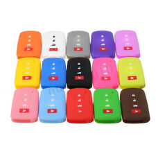 Silicone Remote Key Fob Cover FOR Toyota Highlander Camry Corolla RAV4 Avalon