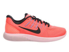 NEW WOMENS NIKE LUNARGLIDE 8 RUNNING SHOES TRAINERS HOT PUNCH / BLACK / LAVA GLO