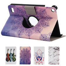 Painted Leather Folding Stand Case Cover For Amazon Kindle Fire HD 7 2015