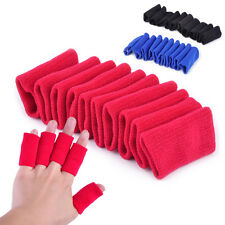 10pcs Stretchy Finger Sleeves Support Wrap Arthritis Protector Basketball Sports