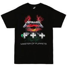 Metallica Master Of Puppets Album Art Licensed Adult Band T-Shirt - Black