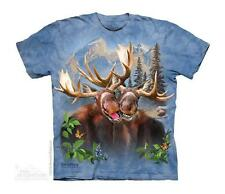 MOOSE SELFIE CHILD T-SHIRT THE MOUNTAIN