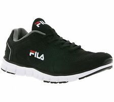 NEW FILA Comet Run Low Shoes Running Shoes Sneakers Sneaker Black 4010249.2