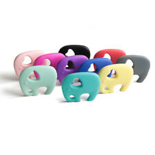 Baby Favor Silicone Elephant Teething Pacifier Pendant Soother Teether