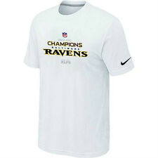 Baltimore Ravens 2012 AFC Conference Champions t-shirt Nike new NFL Football