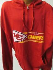 Chiefs Big Mens 3XL - 6XL 2XLT 3XLT 1/4 Zip Hooded Sweatshirt  KK 6414 KK 6419