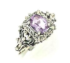 Amethyst Ring 925 Silver Sterling silver ANTIQUE STYLE