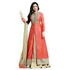 Designer Anarkali Full Length Salwar Kameez Suit Bollywood Dress India-LT-1009