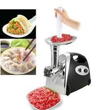 Stainless Steel 2800W Electric Meat Grinder Mincer Sausage Maker Stuffer S7O4