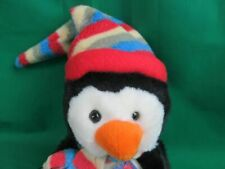 RUSS SHINING STARS SOFT PENGUIN NAME A STAR PLUSH STUFFED ANIMAL TOY NEW W/ CODE