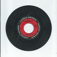 Johnny Tillotson: I'M SO LONESOME I COULD CRY; Cadence Records 45 rpm