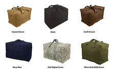 Military Canvas Parachute Large Cargo Bag Army Navy USMC Marines Duffle 24 X 15