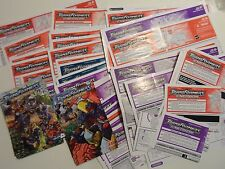 Transformers Energon 2003 Action Figure Parts Instructions Books Catalogs Manual