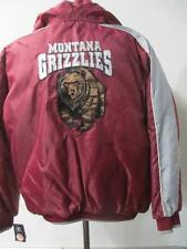 Montana Grizzlies Mens M - XL Full Zip Winter Jacket w/ Removable Hood UMO 13