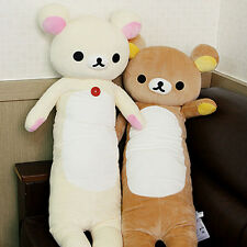 39''Relax San-X Rilakkuma Bear plush soft toys doll Body Pillow Cushion 2017 hot
