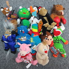 Lot of 12 Meanies Plush Series 1-3 (Snake Eyes Jake Chubby Splat in the Hat)
