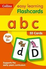 Abc Flashcards by Collins Easy Learning Paperback Book Free Shipping!