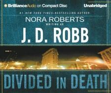In Death: Divided in Death 18 by J. D. Robb (2004, CD, Unabridged)