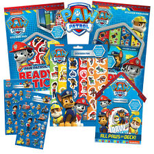 PAW PATROL - Colouring Stickers Activity Books Pads Sheets Kids Party Gift Xmas