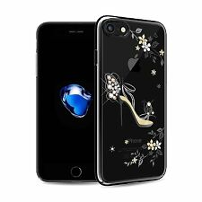 """Crystal Bumper Bling Hard PC Luxury 3D Rhinestone Case Cover For iPhone 7 4.7"""""""