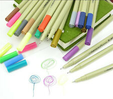 24/48 Color FINECOLOUR Water Based 0.3mm Fine Liner Pen Painting Sketch Set