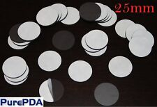 Circle Round Self Adhesive Fridge Magnets Strips Invitations Photos Cards (25mm)