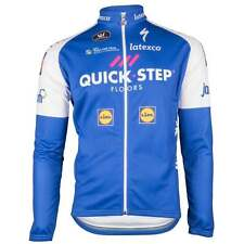 Vermarc Official Team Quick-Step Long Sleeved Cycle Cycling Bike Jersey