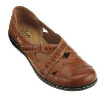 Clarks Leather Slip-on Shoes - Ashland Spin Q A229594, Bendables, CHOICE $78
