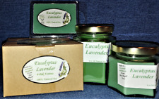NEW Hand Poured Summer Scents Soy Candles, Tarts & Votives - Eucalyptus Lavender