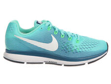 NEW WOMENS NIKE AIR ZOOM PEGASUS 34 RUNNING SHOES TRAINERS HYPER TURQUOISE / LEG