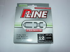 P-LINE CX PREMIUM FLUOROCARBON COATED Fishing Line HI VIZ CLEAR ALL SIZES